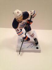 Jordan Eberle Signed NHL Series 32 McFarlane COA Oilers Canada Islanders