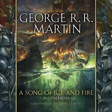 A Song of Ice and Fire 2017 Calendar by George R. R. Martin (2016,...