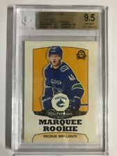 2018-19 OPC O-Pee-Chee Retro Rookie Blank Back Elias Pettersson BGS 9.5 Gem Mint