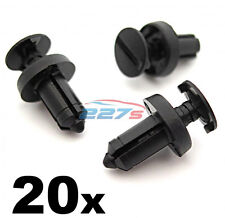 20x renault trim plastic-clips into 6.5mm hole. used