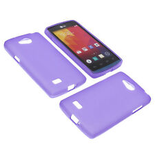 Case for Lg Joy Cell Phone Pocket Cases TPU Rubber Case Purple