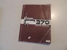 Work Shop Service manual SUZUKI SP 370  Werkstatthandbuch Reparaturanleitung