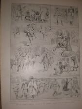 Australia How we formed a mounted company in our township 1899 prints ref G