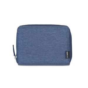 Pacsafe - RFIDsafe™ LX150 RFID Blocking Zippered Passport Wallet - Denim