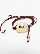 Real bug Bracelet, Black Leaf Beetle Bracelet