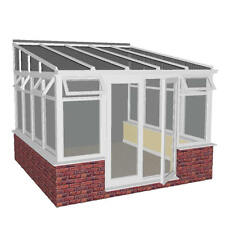 DIY LEAN-TO 4.5m X 3.5m - SYNSEAL CONSERVATORY ROOF AND FRAME FITTING GUIDES