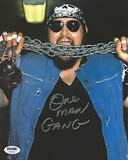 One Man Gang Signed WWE 8x10 Photo PSA/DNA COA Picture Autograph WCW ECW NWA WWF