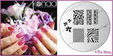 Konad Stamping Nail Art Image Plate M57 ZEBRA PRINT