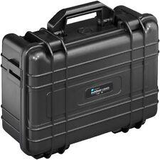 B&W case with customisable  foam inserts Type 30 Waterproof utility case (Black)