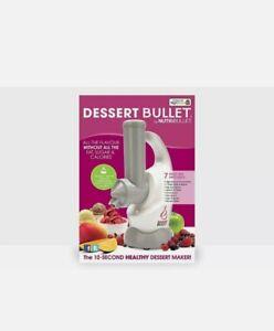 DESSERT BULLET Healthy Dessert Maker by NUTRIBULLET VEGAN ICECREAM