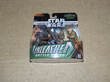 STAR WARS UNLEASHED BATTLE PACKS, BATTLE OF KASHYYYK, WOOKIE WARRIORS, NEAR MINT