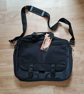 BLACK LAP TOP WORK BAG TRAVEL CASE