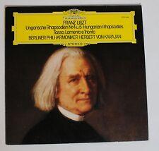 Liszt, Ungarische Rhapsodien - Tasso, Herbert von Karajan [DGG 2530 698]