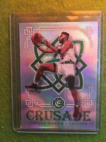 JAYLEN BROWN ROOKIE PRIZM CARD JERSEY #7 PRISM 2016-17 Excalibur Crusade Celtics
