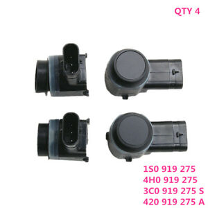 Fit For VW Golf Polo AUDI A4 A5 A6 C7 A8 Q5 Q7 Skoda Seat PDC Parking Sensor ×4