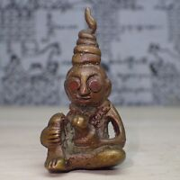 Phra Ngang Talisman of Magic Khmer worship fortune love interminable Thai Amulet