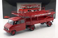 Opel Blitz Camion Porsche Rouge 1:18 Schuco