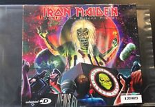 IRON MAIDEN CD New Mint Rare - Out Of The Silent Planet Live Poster