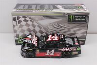 CLINT BOWYER #14 2018 HAAS MICHIGAN RACED WIN 1/24 SCALE NEW FREE SHIPPING