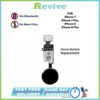 IPHONE 7 HOME BUTTON FLEX CABLE BLACK REPLACEMENT MAIN MENU