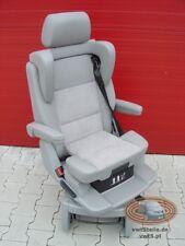 VW T5 GP Drehsitz Multivan Sitz Leder Grau Alcantara Kindersitz