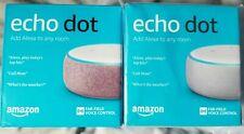 BRAND NEW Amazon Echo Dot 3rd Generation w/ Alexa Voice - Sandstone and Plum