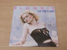 """Blondie/The Tide Is High/1980 Chrysalis 7"""" Single"""