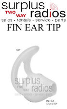 Comfortable Ear-Mold Fin Earpiece Motorola Surveillance headsets XTS2500 XTS5000