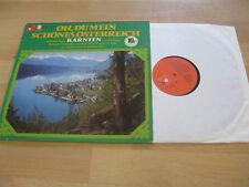 LP Oh Du mein schönes Österreich Various Kärnten Vinyl BASF 10 21352-8