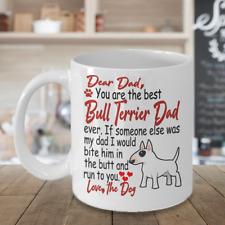 Bull Terrier dog,English Bull Terrier,Bully,The White Cavalier,Wedge,Cup,Mugs