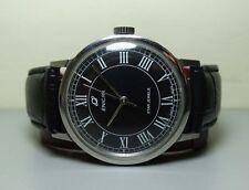 VINTAGE Enicar WINDING SWISS MENS BLUE LOOK WRIST Watch G832 OLD USED Antique