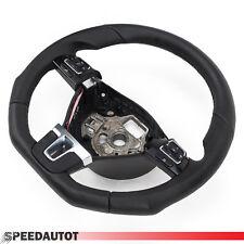 TUNING adintelado Volante De Cuero VW PASSAT B7 Volante multif. 3c8419091 Negro