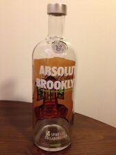 Absolut Brooklyn Limited Edition Empty Bottle Vodka