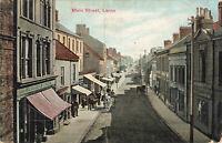 Pre 1913 Scenic Postcard, Main Street, Larne, Antrim Northern Ireland (Aug 1904)