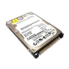 """HARD DISK HDD Interno 160 GB Giga PATA IDE ATA 2,5"""" Funzionante WD X Portatili"""