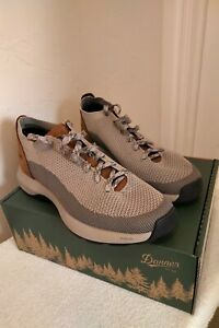 Danner Caprine Low Mens Taupe/Ginger Leather 3in Urban Hiking Shoes Sz 10.5 NIB