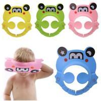Adjustable Baby Child Kids Shampoo Bath Shower Cap Hat Wash Hair Cap Shield