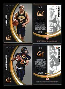 2015 Panini Collegiate Cal Bears Berkeley SILVER PARALLEL~ You Pick~ NFL MLB NBA
