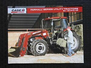 "2008 ""CASE IH FARMALL 70 80 90 95 65C 75C 85C 95C 85U 95U 105U TRACTOR"" BROCHURE"