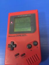 Rare NIntendo Original Fat Gameboy Red Play It Loud Works Nice