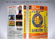 SUPER MARIO ALL STARS. JAPAN. Box/Case. Super Nintendo. BOX + COVER. (NO GAME).