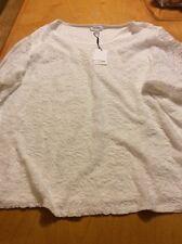$89 Calvin Klein White Blouse Size 3x BN6