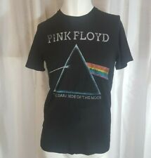 Pink Floyd Dark Side of the Moon Prism Men's T Shirt Black Size Small Old Navy