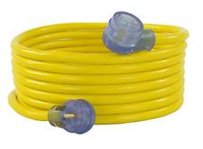Conntek 14360 30 Amp Rv Extension Cord Yellow 10-Feet