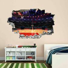 Tribunal de baloncesto Pared Arte Adhesivo Mural Calcomanía Decoración para el Hogar Oficina Dormitorio de Niños BH2