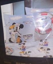 Duvet Set Bedding New Mickey Mouse Pluto 🌸 New Vintage Sailor Mickey