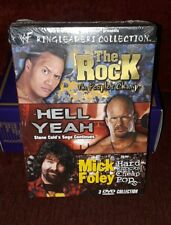 WWF WWE Ringleaders Collection DVD! OOP! RARE NEW The Rock Stone Cold Mick Foley