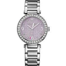 Juicy Couture Cali Purple Glitter Ladies Watch 1901327 Brand New