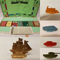 Monopoly Board Game Vintage 1950s VERY RARE PIECES Complete Excellent Condition