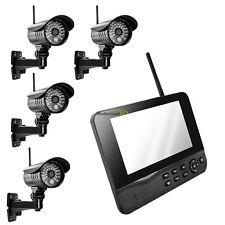 MT Vision Funk Videoüberwachung HS-410 IP Abruf Überwachungssystem 4 Kamera